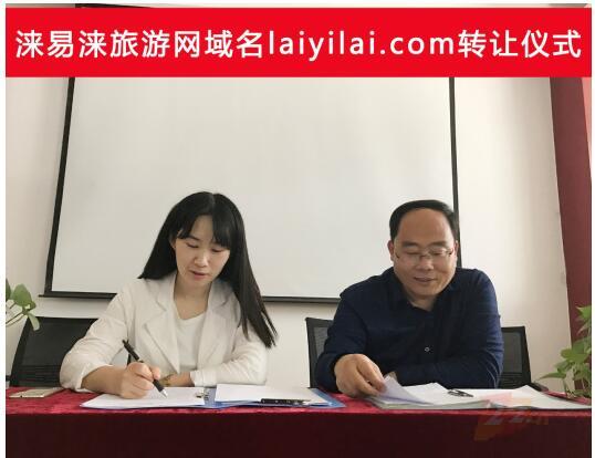 涞易涞旅游网收购品牌域名laiyilai.com 域名成交 第1张
