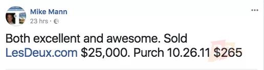 【2.7爱名早知道】3字母dax.com超300万元易主!海外大佬又卖米啦!马斯克成功将特斯拉跑车送上太空!